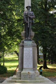 War Memorial, Bedwellty Park, Tredegar