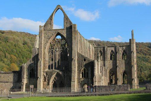 West Front, Abbey Church, Tintern Abbey, Tintern