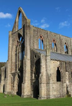 West Front and South Front, Abbey Church, Tintern Abbey, Tintern