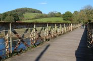 Wireworks Bridge, over River Wye, Tintern
