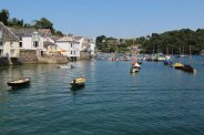 Albert Quay and River Fowey, Fowey