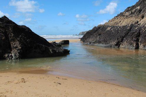 Beach, Bedruthan Steps