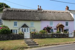 Carn Du Cottage and Trevarrow Cottage, Coverack