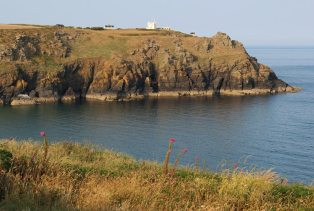 Housel Bay, Pen Olver and Lloyd's Signal Station, Lizard Point