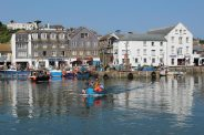 Middle Wharf, Inner Harbour, Mevagissey