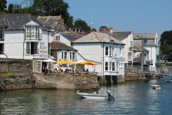 Old Quay House Hotel and Harbour Board Offices, Fowey