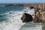Pendarves Island, Bedruthan Steps and Park Head