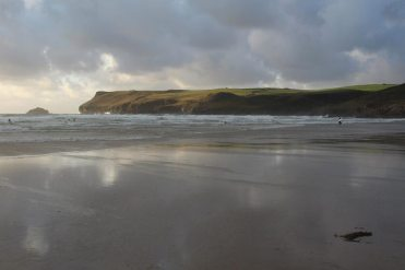 Pentire Point and Newland Island, Polzeath