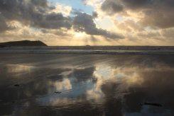 Sunset, Hayle Bay, Polzeath