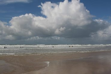 Surfing, Fistral Beach, Newquay