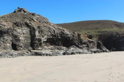 Cliffs, Chapel Porth