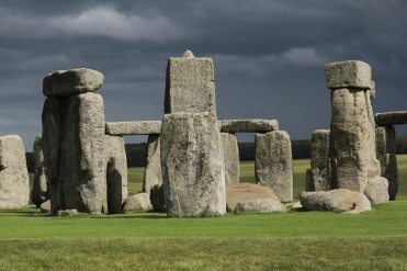 From site of Aubrey Holes, Stonehenge