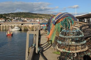 Lobster pots, Victoria Pier, The Cobb, Lyme Regis