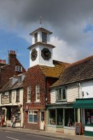 The Clock Tower on the Old Market House, Steyning