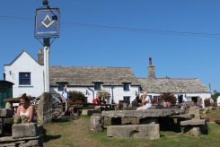 The Square and Compass pub, Worth Matravers