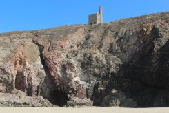 Wheal Coates Mine and Towanroath Vugga, Chapel Porth
