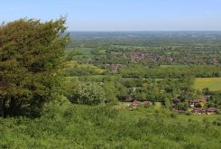 Ditchling, from Ditchling Beacon
