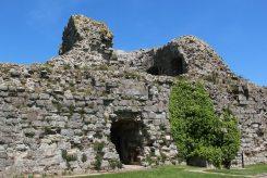 East Tower, Inner Bailey, Pevensey Castle, Pevensey