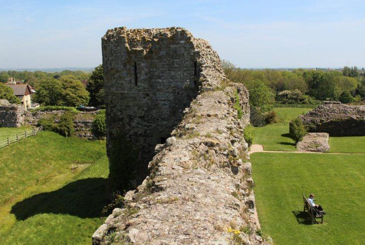 East Tower, Pevensey Castle, Pevensey