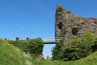 Gatehouse and Moat, Pevensey Castle, Pevensey