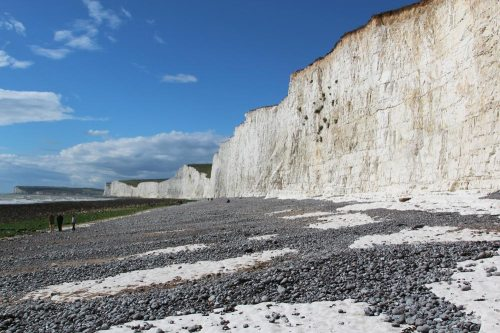 Beach and Seven Sisters, Birling Gap