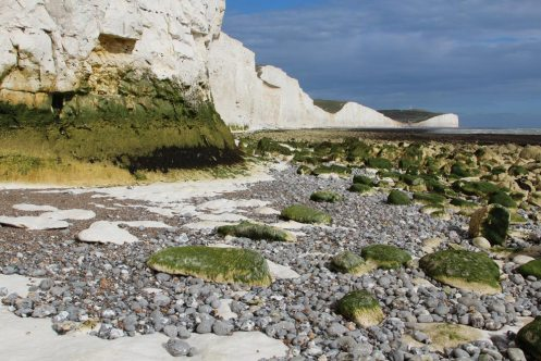 Beach, below Seven Sisters