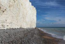 Chalk cliffs and beach, Birling Gap