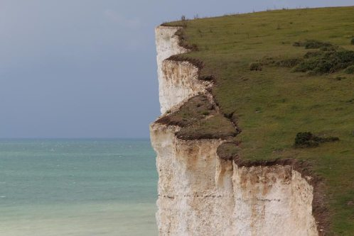 Cliff erosion, Flagstaff Point, Seven Sisters