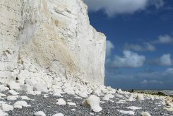 Cliff fall, between Birling Gap and Beachy Head