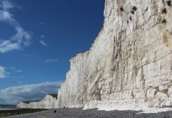 Seven Sisters, from beach, Birling Gap