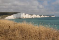 Seven Sisters, from cliffs above Hope Gap