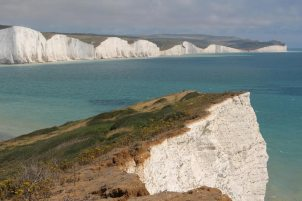 Seven Sisters, from Seaford Head cliffs