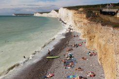 Beach, Birling Gap and Seven Sisters