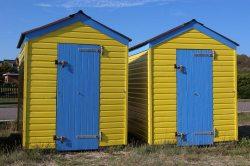 Beach huts, Littlehampton