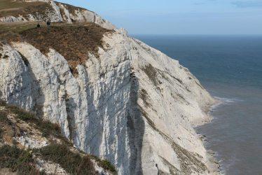 Chalk cliff falls, Beachy Head