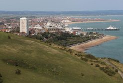 Eastbourne, from Beachy Head