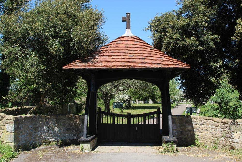 Lychgate, St. Wilfrid's Chapel, Church Norton