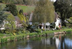 Bickleigh Cottage, River Exe, Bickleigh