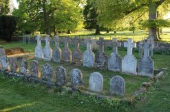 Higgins, Cazenove and Hanbury graves, All Saints Churchyard, Turvey