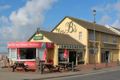 Mrs. B's Amusements and Ice Cream Parlour, Westward Ho!