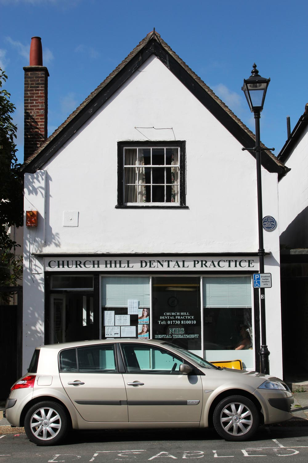 Old Chemist Shop, where H.G. Wells was an apprentice, Church Hill, Midhurst