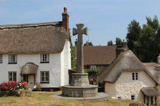 Village Cross, Village Green, Lustleigh