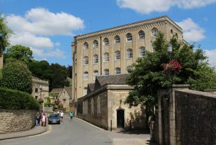 Abbey Mill and Church Street, Bradford on Avon