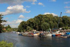 Boatyard, Eel Pie Island, Twickenham