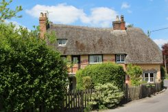 Byways cottage and Church View cottage, Bishops Cannings