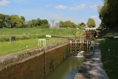 Caen Hill Flight Lock, Boto-X Lock 41, Kennet and Avon Canal, Devizes