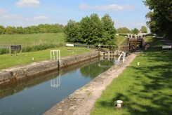 Caen Hill Flight Lock, Jack Dalby Lock 38, Kennet and Avon Canal, Devizes