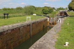 Caen Hill Flight Lock, Peter Lindley-Jones Lock 36, Kennet and Avon Canal, Rowde