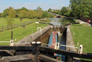 Caen Hill Flight Locks, Moonrake Lock 28, Kennet and Avon Canal, Rowde