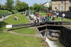 Caen Hill Locks, Kennet Lock 50, Kennet and Avon Canal, Devizes